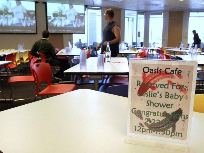 café offert pour une naissance à Mountain-View