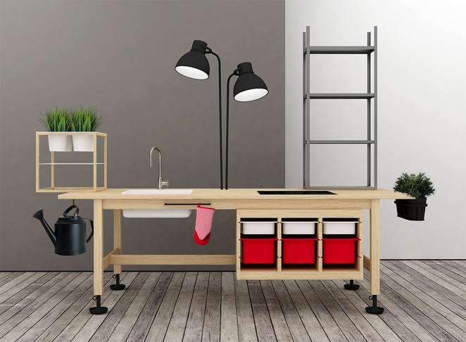 Créer des meubles de bureau en combinant des meubles ikea