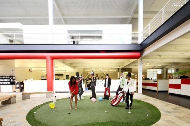 bureaux YouTube – golf
