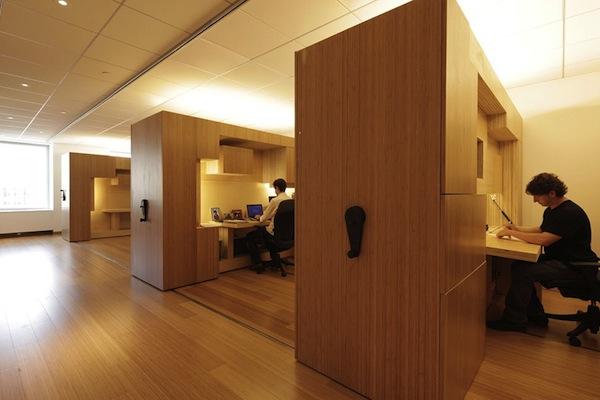 mini bureau en bois