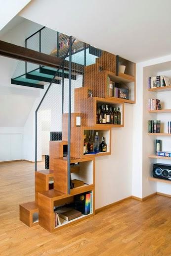 Escalier bar