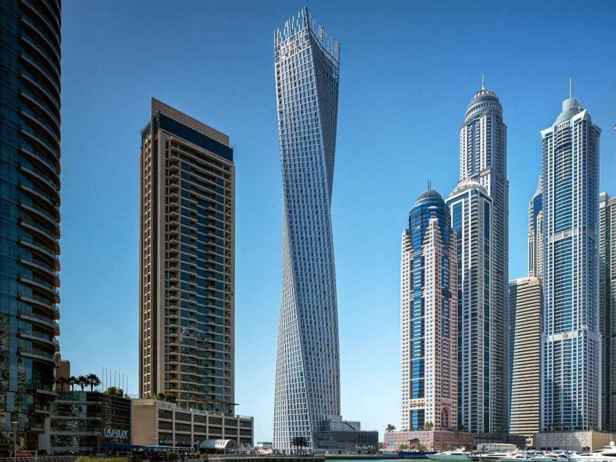 bureaux Cayan-Tower-Dubai