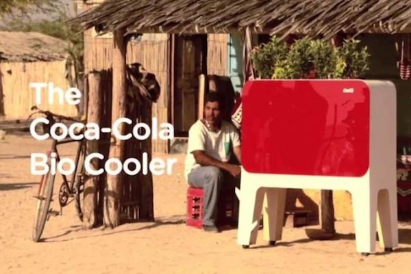 frigo bio Coca Cola